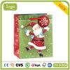 クリスマスの幸せな老人の木靴のギフトの紙袋