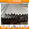 La construcción de aluminio anodizado plata perfil extruido