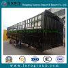 De 3 essieux de frontière de sécurité de cargaison remorque en acier semi à vendre