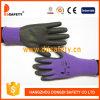 Ddsafety 2017 Veilchen-Nylon mit schwarzem Nitril-Handschuh