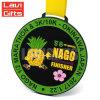 최신 판매 주문 재미있은 귀여운 아연 합금 3D 만화 운영하는 스포츠 메달