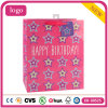 Birthday Pink Star Clothing Shoes Toy Supermarket Gift Paper Bags