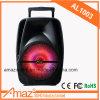 Bom altofalante portátil do trole de Bluetooth da venda da qualidade pelo mundo inteiro para ao ar livre/karaoke