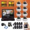 8CHモニタが付いている無線CCTV DIYの機密保護のホームシステムキットIPのカメラDVR
