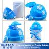 botella de agua plástica de los cabritos de los niños del espacio en blanco de la sublimación 400ml