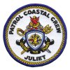 Customized Patrol Coastal Crew Member Use Embroidery Patch (013)