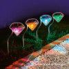 Angeschaltenes Garten-Diamant-Rasen-Solarlicht (RS002)