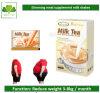 ミルクセーキ、減量のための完全なミルクの茶を細くする非常に熱い脂肪
