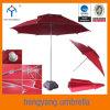 Le double des rayons 120cm*8k incline le parapluie de /Patio de parapluie de plage de parasol