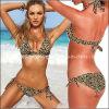 2013 Nova Chegada de alta qualidade de impressão de leopardo selvagens Swimsuit Bikini calções de banho externa tentação (AZNAS061404)