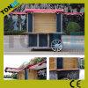 中国の屋外の通りの食糧キオスクのトレーラー
