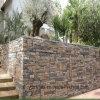 別のサイズのGabionの石の壁の網