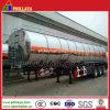 Del tanque del carro petrolero diesel de gasolina y aceite de la aleación de aluminio del acoplado semi