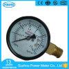 [50مّ] سوداء فولاذ جانب توصيل ضغطة مقياس مقياس ضغط