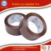 Vrije Plakband 48mm van de Verpakking van het Karton BOPP van Steekproeven Donkere Bruine Koffie Gekleurde Verzegelende