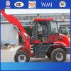 O CE Certificated carregador da roda de 1.5 toneladas o mini