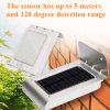 Wand-Licht der Dongguan-Fabrik-Solarbewegungs-PIR des Fühler-LED