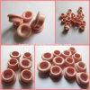Remache de cerámica del alúmina del 99% (remache de cerámica del collar, anillo de cerámica ensanchado)