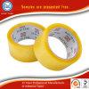 De vrije Plakband van de Verpakking van het Karton BOPP van Steekproeven Transparante Geelachtige Verzegelende