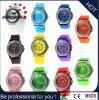 Het Horloge van het Silicone van het Kwarts van Genève van de douane (gelijkstroom-110)