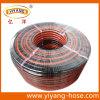 Boyau de jardin flexible de PVC de dîner