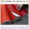 Vinyle auto-adhésif de fini mat rouge pour PVC Rolls en stratifié de collant de vinyle de couleur de traceur de découpage