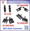 4 tot 1 Schakelaar van de Kabel van Zonnepanelen Maximum 40A