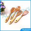 4 PCS의 대나무 Kitchen Tools Cooking Spatula Spoon Set