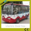 Bus électrique de vente chaud de nourriture