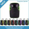 Bonne qualité 12 pouces de chariot de haut-parleur professionnel de projection avec la batterie