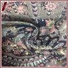 Tela del satén de la seda de la impresión el 100% del modelo del pavo real
