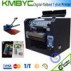 Impresora plana de materia textil de Digitaces para la impresión de la camiseta
