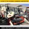 La Chine Fabricant Type 4LZ-5g moissonneuse-batteuse agricoles à chenilles en caoutchouc Luckystar XG988z pour le riz et du blé