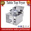 Edelstahl-Tisch-Oberseite-Druck-Bratpfanne/automatische Bratpfanne-Maschine