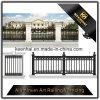 Для использования вне помещений порошковое покрытие декоративные ограды сада из литого алюминия