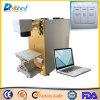 máquina plástica do marcador do CNC do laser da fibra 20W para a venda