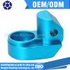 青い陽極酸化されたアルミニウム部品、CNCの製粉の部品、精密CNCの機械化