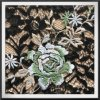 Lace Fabric com bordados de flores de tecido de renda para vestir