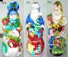 PC en verre de Tableau de GChristmas dans Santa, sac d'ift du bonhomme de neige (33-12-22Ih) (LY-B006)
