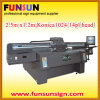 Digital ULTRAVIOLETA Printer para Flatbed Printing