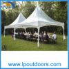 6x6m Outdoor ressort clairement de profilé en aluminium toit haut tente pour partie