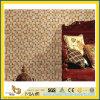 Het gele Warme Natuurlijke Mozaïek van de Tegel van de Vloer van het Graniet van de Steen