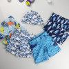 Shorts asciutti rapidi su ordinazione della spiaggia della scheda di spuma dello Swimwear degli uomini
