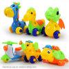 Écrou de vis de bricolage Groupe jouets en plastique installé d'enfants Jigsaw Puzzle 3D
