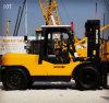 Schwerer Motor-Gabelstapler Japan-Isuzu mit langen Gabeln