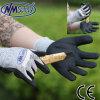 Gant de travail à la protection des mains résistant à la coupe et à la nitrile Nmsafety