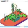 10ton energie - de Installatie van de Raffinage van de Zuiveringsinstallatie van de Olie van het Afval van het Type van besparing