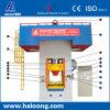 Máquina de perfuração de seqüência hidrostática de alta freqüência