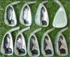 L'ensemble de fer de golf de club de golf viennent avec le numéro de série