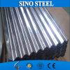 Corrugado chapa de acero galvanizado / material de cubierta